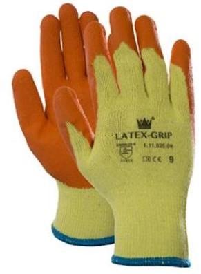 Latex-Grip handschoen