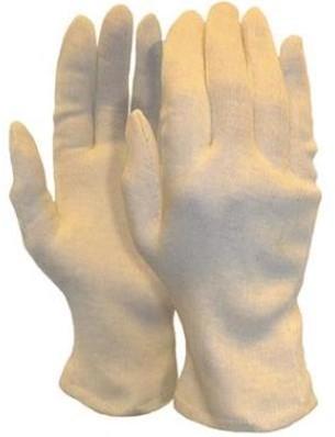Interlock handschoen, herenmaat zware kwaliteit (225 grams)