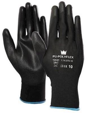 PU/polyester handschoen - 9