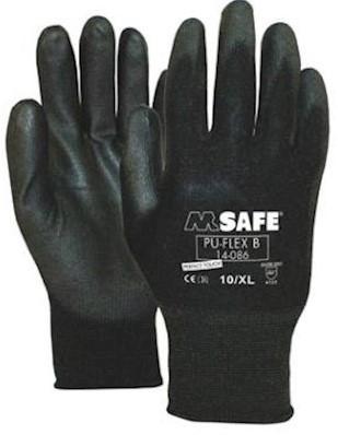 M-Safe PU-Flex B 14-086 handschoen - 9/l