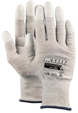 M-Safe PU-Fingertip 14-102 handschoen - 9