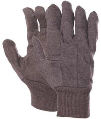 Jersey handschoen bruin 369 grams