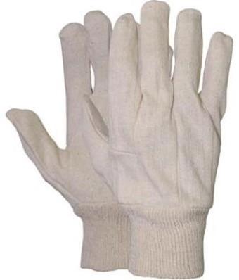 Jersey handschoen écru 255 grams