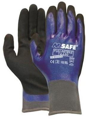 M-Safe Full-Nitrile 14-650 handschoen