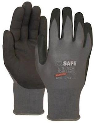 M-Safe Nitri-Tech Foam 14-690 handschoen - 6/xs