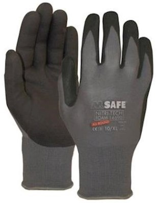M-Safe Nitri-Tech Foam 14-690 handschoen - 8/m