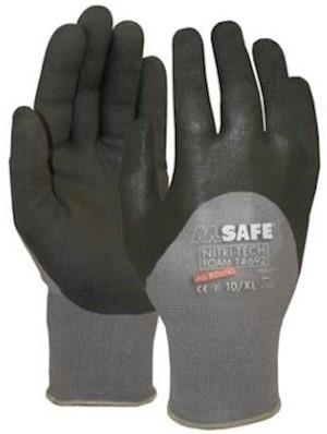 M-Safe Nitri-Tech Foam 14-692 handschoen - 9/l