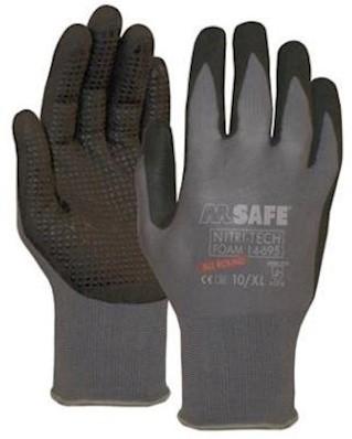 M-Safe Nitri-Tech Foam 14-695 handschoen - 8/m
