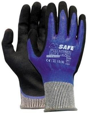 M-Safe Full-Nitrile Cut D 14-700 handschoen - 9/l