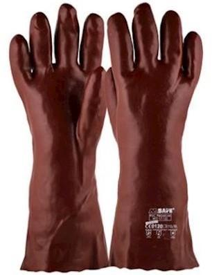 M-Safe PVC Premium Red 17-135 handschoen