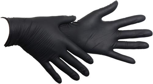Zwarte Nitriel Handschoenen