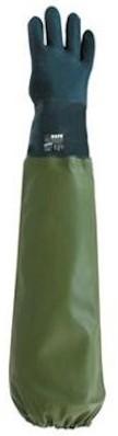PVC groen plukhandschoen rechts