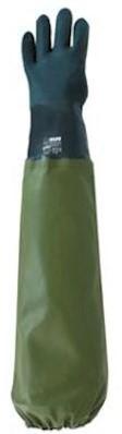 PVC groen plukhandschoen links