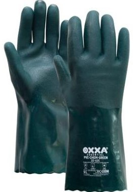 OXXA® PVC-Chem-Green 20-435 handschoen - 9/l