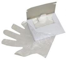 Polyethyleen wegwerphandschoenen