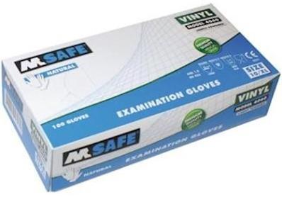M-Safe 4060 disposable vinyl handschoen