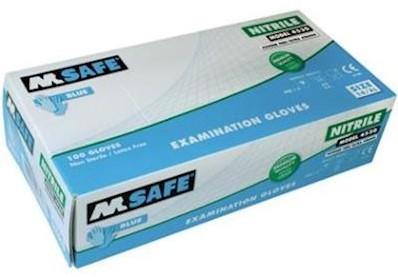 M-Safe 4530 disposable nitril handschoen - 10/xl