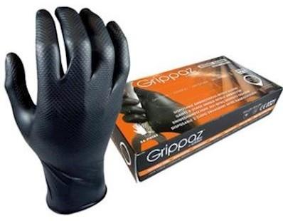 M-Safe 246BK Nitril Grippaz handschoen - m