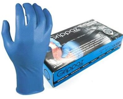 M-Safe 246BL Nitril Grippaz handschoen - s