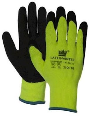 Latex-Winter handschoen