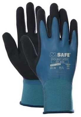 M-Safe Double Latex 50-400 handschoen