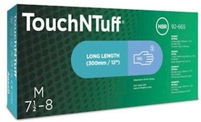 Ansell TouchNTuff 92-665 handschoen - 7½-8