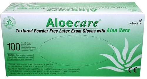 AloeCare handschoenen Poedervrij - 564 - xs