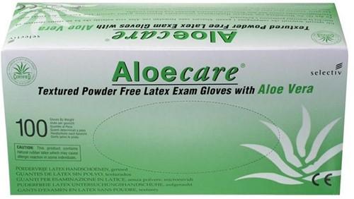 AloeCare handschoenen Poedervrij - 569 - s