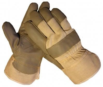 Werkhandschoen Meubelleder donker