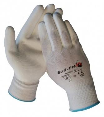 Werkhandschoenen Bull Flex PU Wit