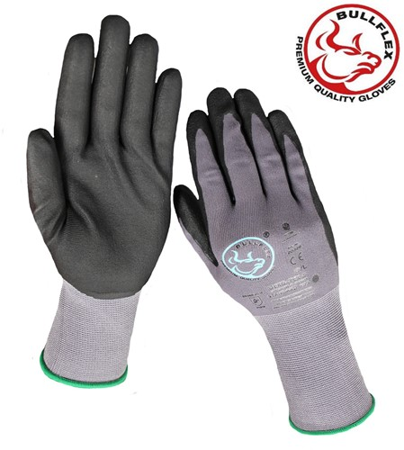 Bullflex Primium Nitri-Comfort Werkhandschoen - 10/xl